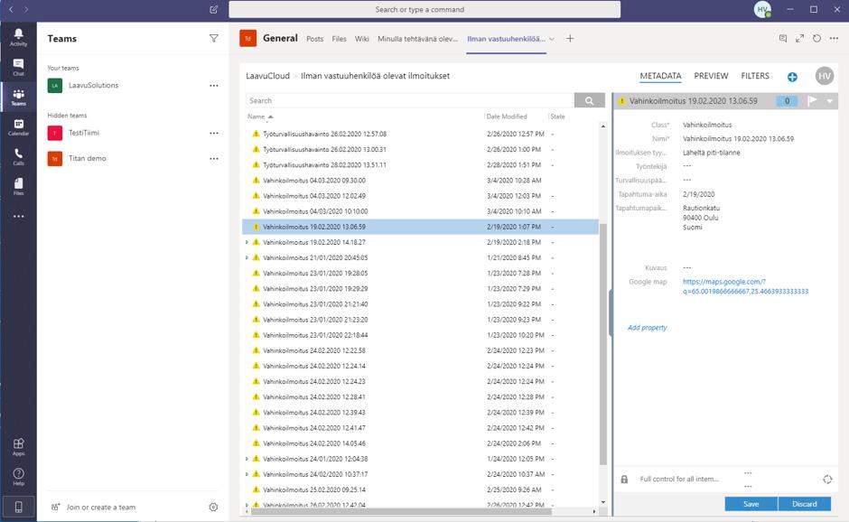 Tehosta yrityksesi tiedonhallintaa M-Files ja Microsoft Teams-Integraatiolla